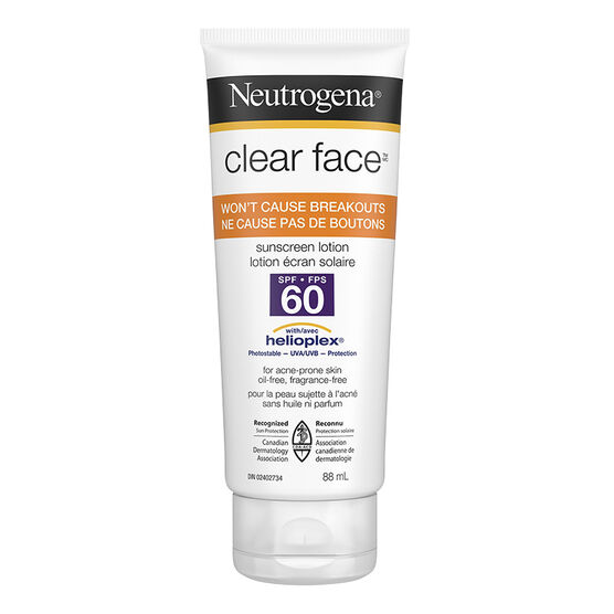 Neutrogena Clear Face Lotion - SPF 60 - 88ml