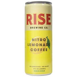 Rise Brewing Nitro Cold Brew Coffee - Lemonade - 200ml