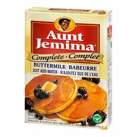Aunt Jemima Complete Buttermilk Pancake Mix - 905g