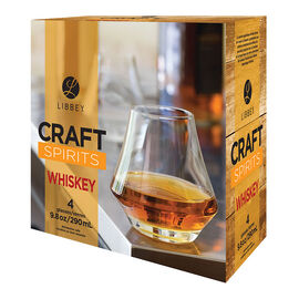 Libbey Craft Spirits Whiskey Glasses - Set of 4