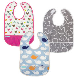 Kushies CleanBib - 12+ months - Assorted