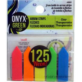 Onyx Green Arrow Strips - 125 arrows