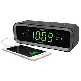 Timex Dual Alarm Clock Radio - Black - T236BQX