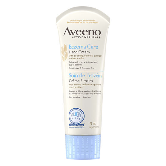 Aveeno Active Natural Eczema Care Hand Cream - 71ml