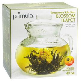 Primula Glass Bottom Teapot - 40oz