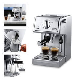 DeLonghi Pump Espresso Maker - Stainless Steel - ECP3630