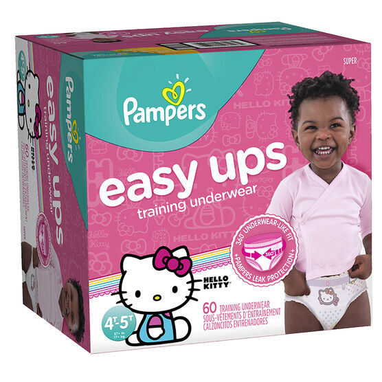Pampers Easy Ups Training Underwear - 4T/5T - 60ct - Girls