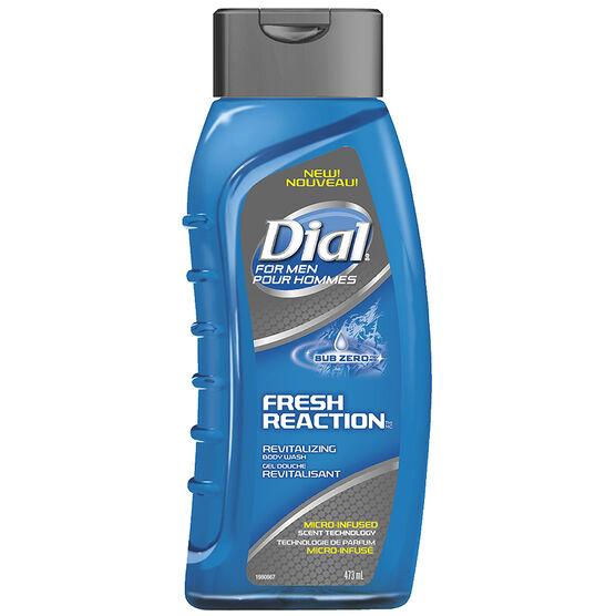 Dial for Men Fresh Reaction Revitalizing Body Wash - Sub Zero - 473ml