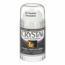 Crystal Body Deodorant Stick for Men - 125g