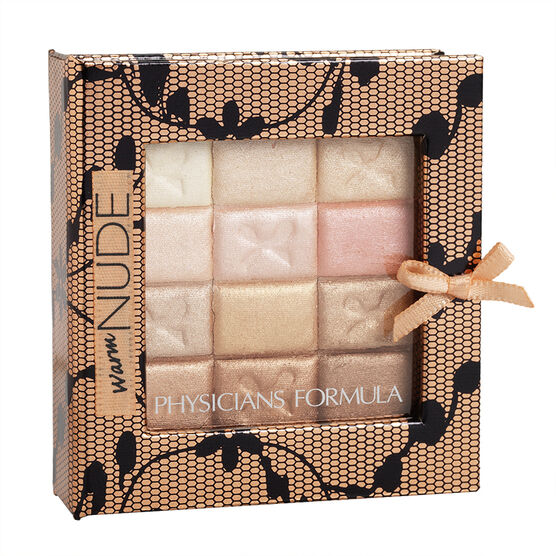 Physicians Formula Shimmer Strips All-In-1 Custom Palette for Face and Eyes - Warm Nude
