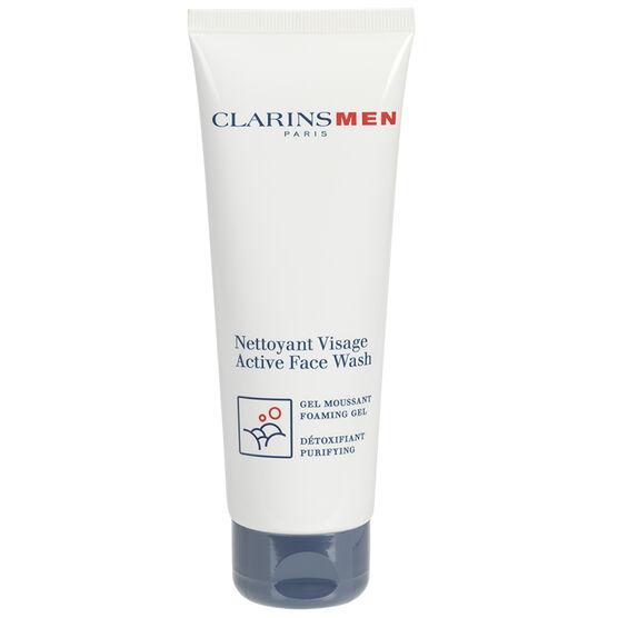 ClarinsMen Active Face Wash - 125ml