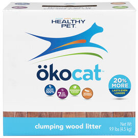 Okocat Wood Clumping Litter