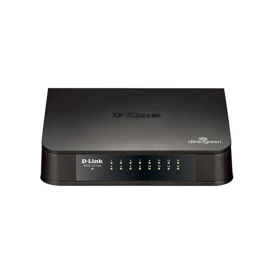 D-Link 16-Port Unmanaged Gigabit Switch - DGS-1016A