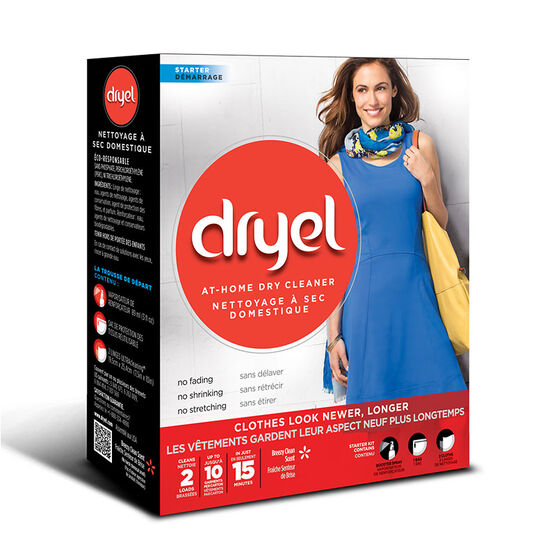 Dryel At-Home Dry Cleaner Starter Kit - 2 uses