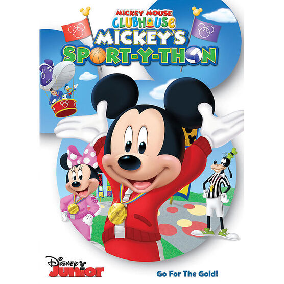 Mickey Mouse Clubhouse: Mickey's Sport-Y-Thon - DVD