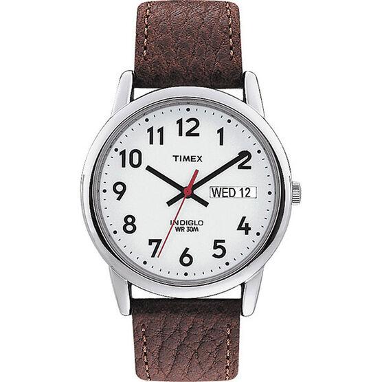 Timex Classics Men's Watch - Silver/Brown - 20041
