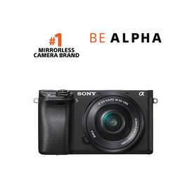 Sony a6300 Body with 16-50mm OSS Lens
