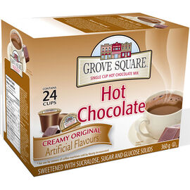 Grove Square Hot Chocolate - Original - 24 pack