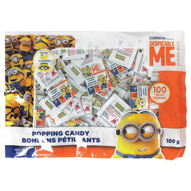 Minions Popping Candy - 100 Pieces