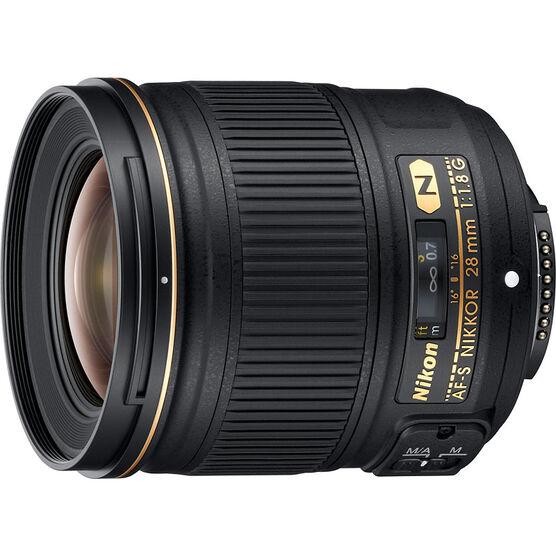 Nikon AF-S Nikkor 28mm F/1.8G Lens - 2203