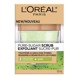 L'Oreal Pure-Sugar Scrub - Tightens & Unclogs - 50ml