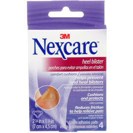 3M Nexcare Heel Blister Comfort Cushions - 4's