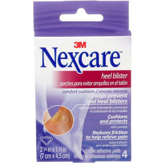 3M Nexcare Heel Blister Comfort Cushions - 4's