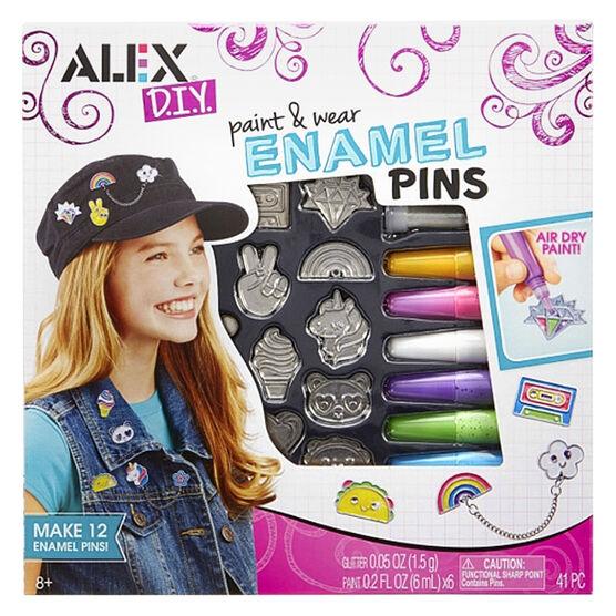 Alex DIY Paint and Wear Enamel Pins