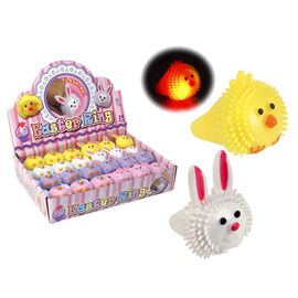 Easter Flashing Puffer Ring - Assorted