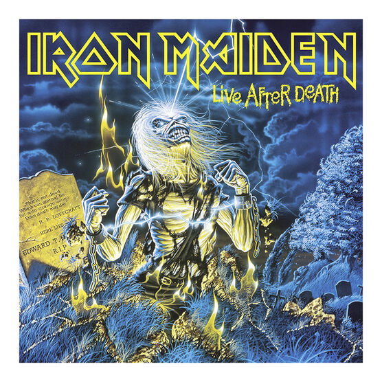 Iron Maiden - Life After Death - 180g Vinyl