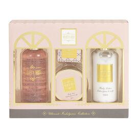 Signature Beauty Bath Gift Set - Velvety Rose - 4 piece