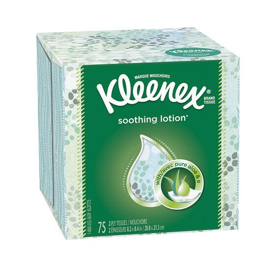 Kleenex Tissues Lotion - 75's