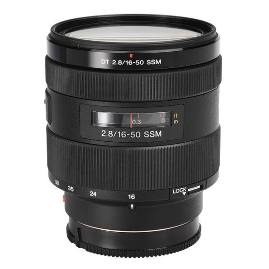 Sony 16-50mm f/2.8 Standard Zoom Lens - SAL1650 - Open Box Display Model