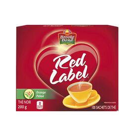 Brooke Bond Red Label Tea - Orange Pekoe - 100's