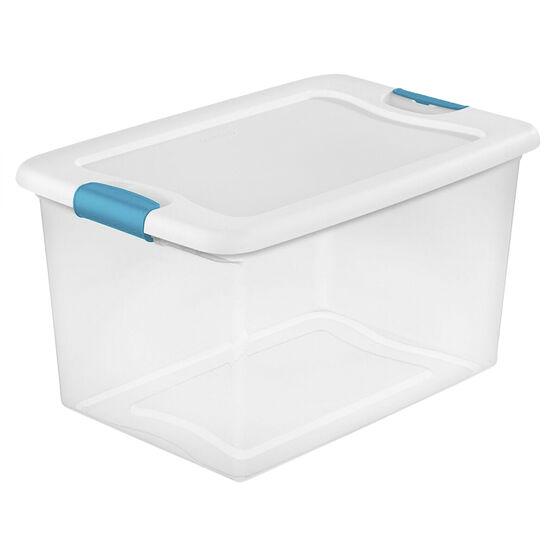 Sterlite Latch Box - Clear - 61L
