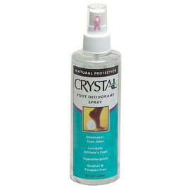 Crystal Foot Spray Deodorant
