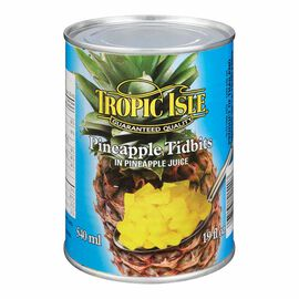 Tropic Isle Pineapple Tidbits - 540ml