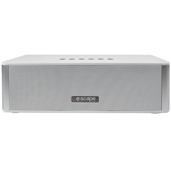 Escape Hands-free Bluetooth Speaker with FM Radio - White - SPBT939