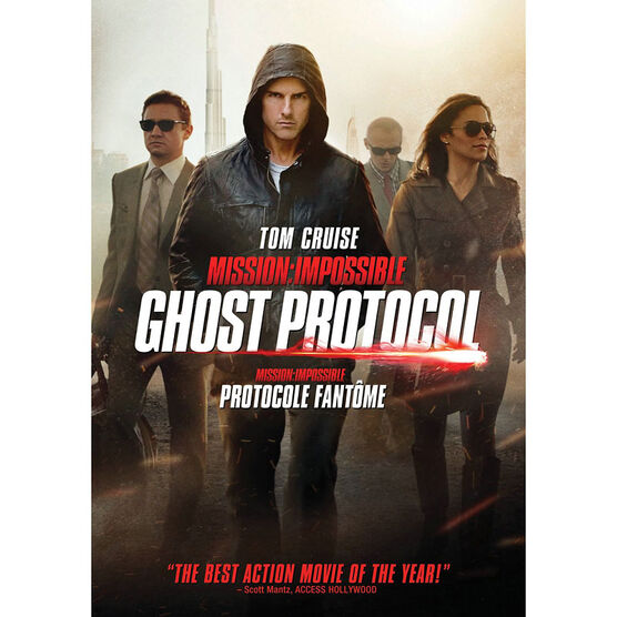 Mission Impossible: Ghost Protocol - DVD