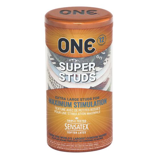 One Condom - Super Studs - 12's