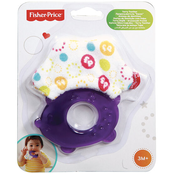 Fisher Price Terry Teether Hedgehog