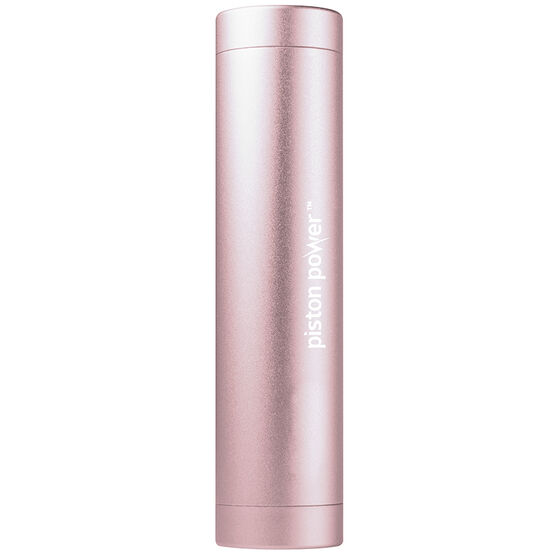 Logiix Piston Power 3400 mAh Portable Battery - Rose Gold - LGX12205