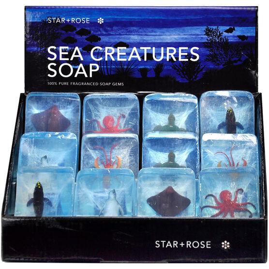 Star&Rose Sea Creature Soap - Assorted
