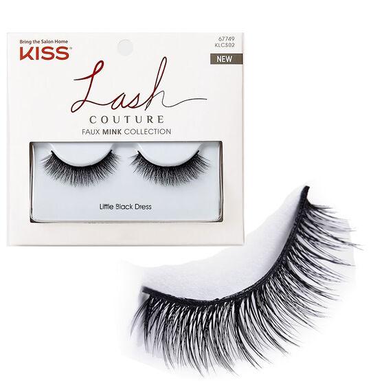 Kiss Lash Couture Faux Mink Collection - Little Black Dress