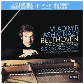Vladimir Ashkenazy, Chicago Symphony Orchestra, Sir Georg Solti - Beethoven: The Piano Concertos - 4 CD + Blu-ray