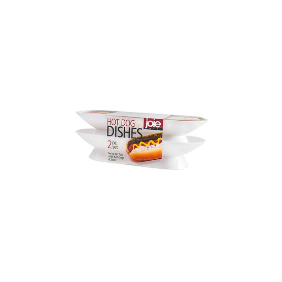 Joie MSC Hot Dog Dishes - 2 piece