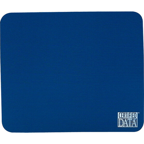 Certified Data Mouse Pad - Blue - MP-1BLU
