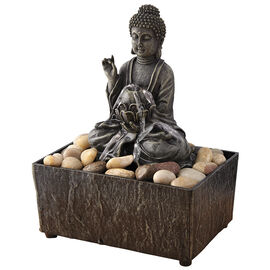 Zen Buddha Decorative Fountain