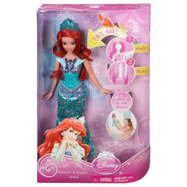 Disney Princess Glitter 'n Lights Doll - Assorted