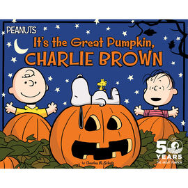 It's the Great Pumpkin Charlie Brown by Charles Schultz